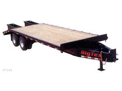 2007 Big Tex Trailers 20PH-20+5 Tandem Dual Axle Pintle Trailer in Scottsbluff, Nebraska