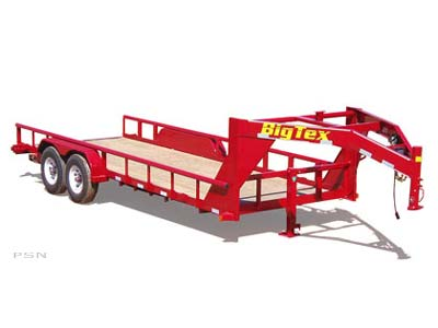 2007 Big Tex Trailers 12GP-24 Heavy Duty Tandem Axle Gooseneck Trailer in Scottsbluff, Nebraska