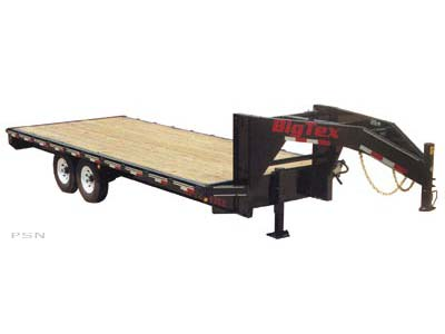 2007 Big Tex Trailers 12PH-22+5 Tandem Axle Pintle Trailer in Scottsbluff, Nebraska