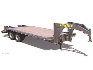 2007 Big Tex Trailers 20GN-24+5 Tandem Dual Axle Gooseneck Trailer in Scottsbluff, Nebraska