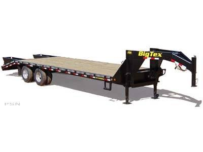 2007 Big Tex Trailers 22PH-20+5 Tandem Dual Axle Pintle Trailer in Scottsbluff, Nebraska