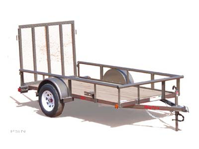 2007 Big Tex Trailers 30SA-10 Single Axle Utility Trailer in Scottsbluff, Nebraska