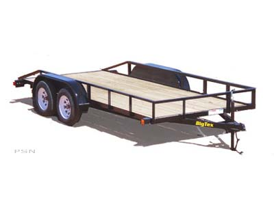2007 Big Tex Trailers 40SP-14 Tandem Axle Utility Trailer in Scottsbluff, Nebraska