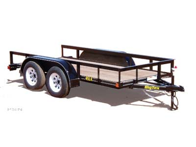 2007 Big Tex Trailers 45LA-12 Tandem Axle Utility Trailer in Scottsbluff, Nebraska