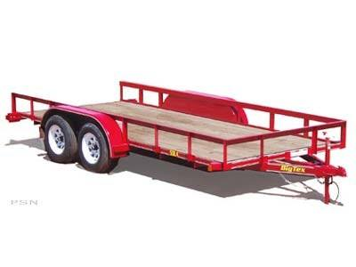 2007 Big Tex Trailers 50LA-16 Tandem Axle Utility Trailer in Scottsbluff, Nebraska