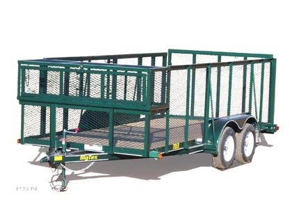 2007 Big Tex Trailers 70LR-12 Tandem Axle Landscape Trailer in Scottsbluff, Nebraska