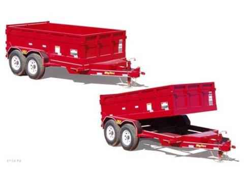2008 Big Tex Trailers 10LP-12 Tandem Axle Low Profile Dump Trailer in Scottsbluff, Nebraska