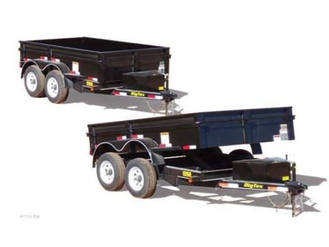 2008 Big Tex Trailers 10SR-10 Tandem Axle Single Ram Dump Trailer in Scottsbluff, Nebraska