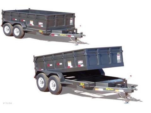 2008 Big Tex Trailers 12LP-12 Tandem Axle Low Profile Dump Trailer in Scottsbluff, Nebraska