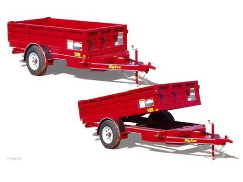 2008 Big Tex Trailers 50DS-10 Single Axle Low Profile Dump Trailer in Scottsbluff, Nebraska