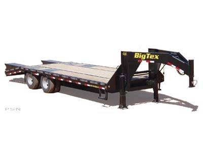 2008 Big Tex Trailers 25GN-24+5 Tandem Dual Axle Gooseneck Trailer in Scottsbluff, Nebraska