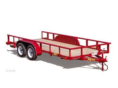 2008 Big Tex Trailers 60SP-18 Tandem Axle Pipe Special Trailer in Scottsbluff, Nebraska