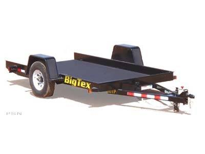 2008 Big Tex Trailers 60TP-12 Single Axle Pan Tilt Transport Trailer in Scottsbluff, Nebraska