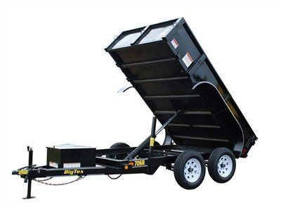 2014 Big Tex Trailers 70SR-10-5W in Scottsbluff, Nebraska