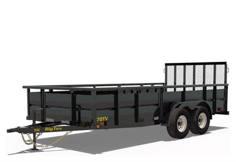 2020 Big Tex Trailers 70TV-14 in Scottsbluff, Nebraska