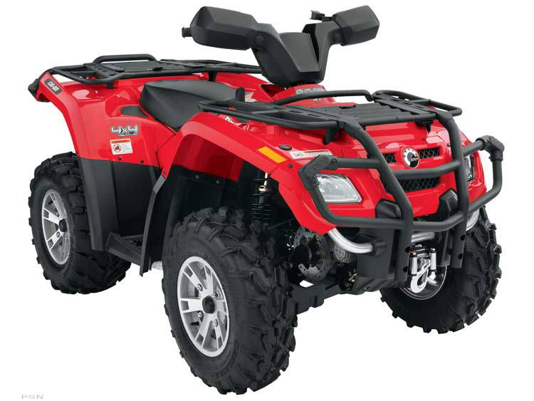 2007 Can-Am Outlander™ XT 400 H.O. in Tarentum, Pennsylvania - Photo 11
