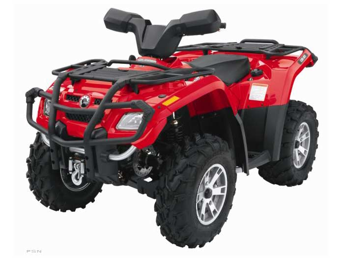2007 Can-Am Outlander™ XT 400 H.O. in Tarentum, Pennsylvania - Photo 17