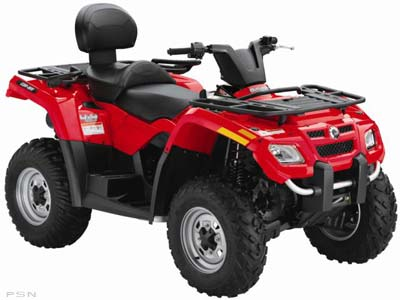 2009 Can-Am Outlander™ MAX 400 EFI in Keokuk, Iowa