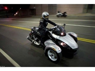 2009 Can-Am™ Spyder GS Roadster with SE5 Transmission (semi aut 5