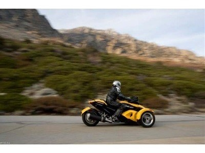 2009 Can-Am™ Spyder GS Roadster with SE5 Transmission (semi aut 7