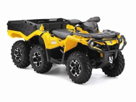 2015 Can-Am Outlander™ 6x6 XT™ 1000 in Dickinson, North Dakota