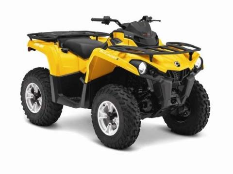 2015 Can-Am Outlander™ DPS™ 650 in Lancaster, New Hampshire