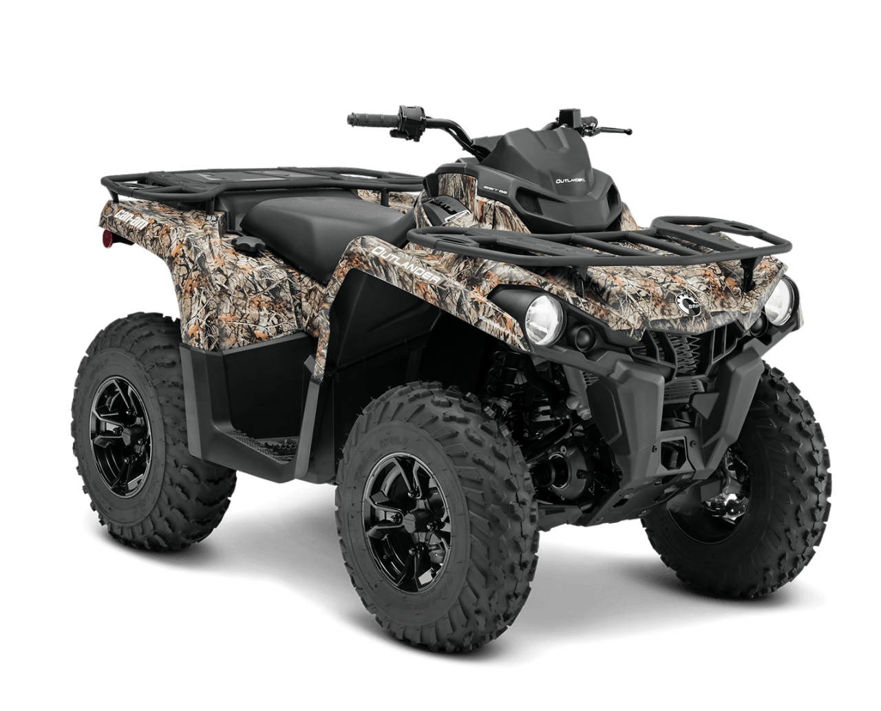 new 2015 can am outlander l dps 450 atvs in cambridge oh stock number stocknumber. Black Bedroom Furniture Sets. Home Design Ideas