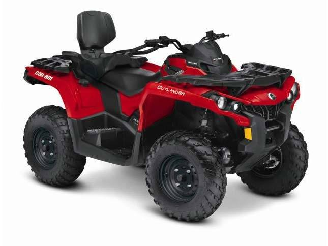 2015 Can-Am Outlander™ MAX 650 in Grantville, Pennsylvania