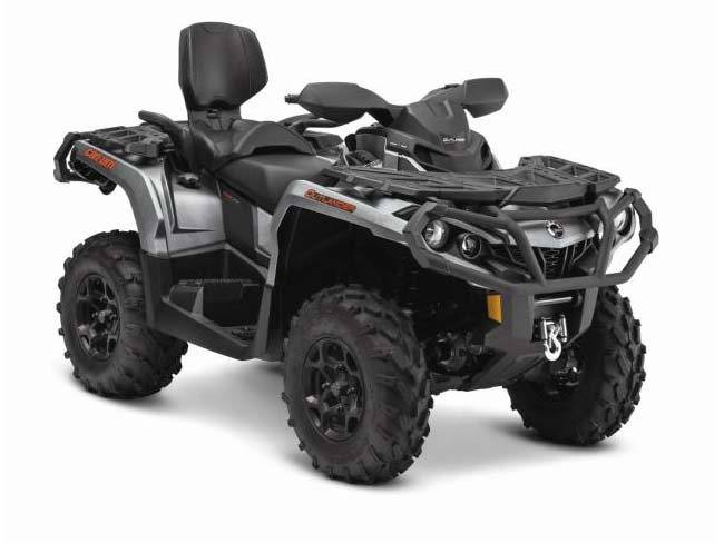 2015 Can-Am Outlander™ MAX XT™ 650 in Grantville, Pennsylvania
