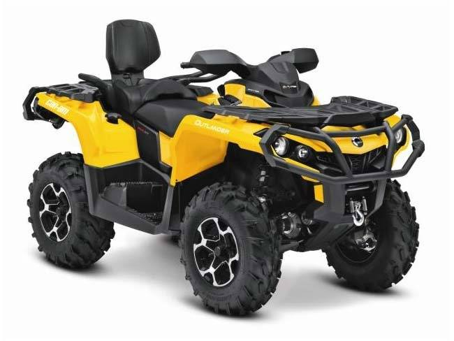 2015 Can-Am Outlander™ MAX XT™ 800R in Grantville, Pennsylvania