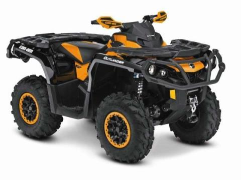 2015 Can-Am Outlander™ XT-P™ 800R in Chester, Vermont