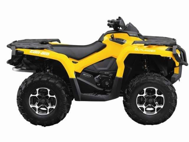 2015 Can-Am Outlander™ XT™ 500 in Grantville, Pennsylvania