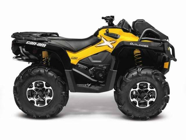 2015 Can-Am Outlander™ X® mr 800R in Grantville, Pennsylvania