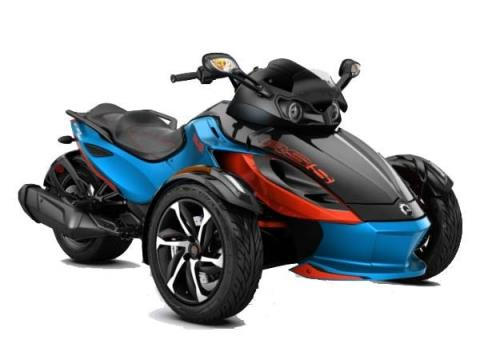 2015 Can-Am Spyder® RS-S SE5 in Grantville, Pennsylvania