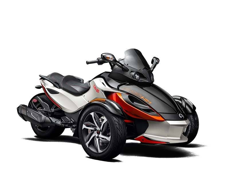 2015 Can-Am Spyder® RS-S SM5 in Grantville, Pennsylvania