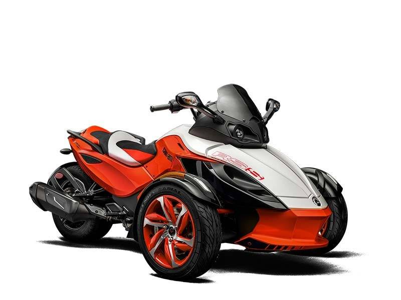 2015 Can-Am Spyder® RS-S Special Series SE5 in Bolivar, Missouri