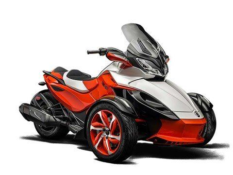 2015 Can-Am Spyder® ST-S Special Series SE5 in Charleston, Illinois