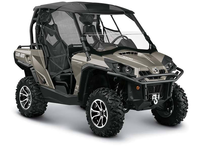New 2015 can am commander limited 1000 utility vehicles for Dakota motors dickinson nd