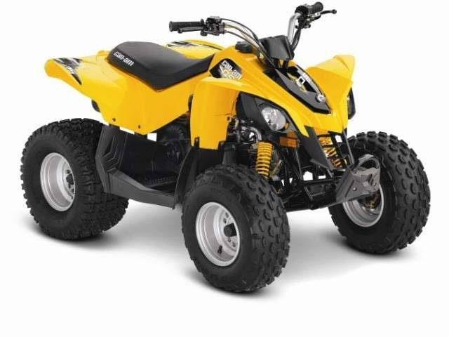 2016 Can-Am DS 90 in Seiling, Oklahoma