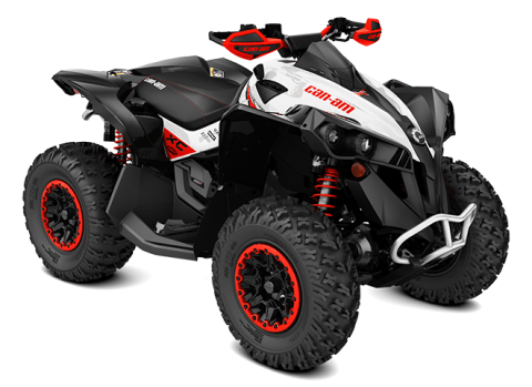 2016 Can-Am Renegade X xc 850 in Roscoe, Illinois