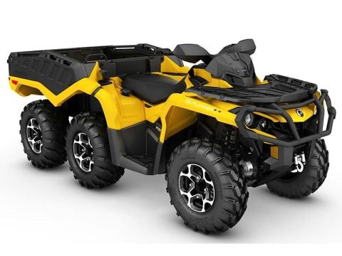 2016 Can-Am Outlander 6X6 XT 1000 in Roscoe, Illinois