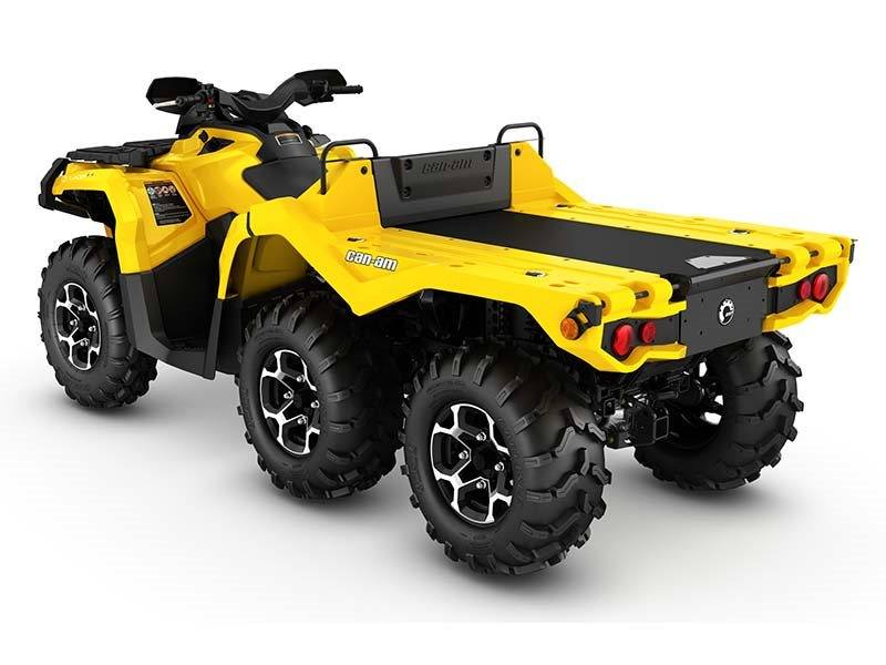2016 Can-Am Outlander 6X6 XT 1000 in Grantville, Pennsylvania