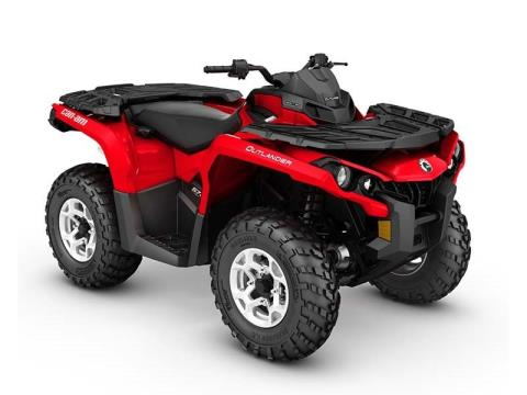 2016 Can-Am Outlander DPS 570 in Kittanning, Pennsylvania