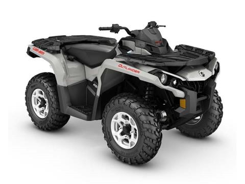 2016 Can-Am Outlander DPS 650 in Roscoe, Illinois