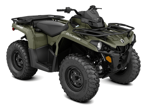 2016 Can-Am Outlander L 450 in Shawano, Wisconsin