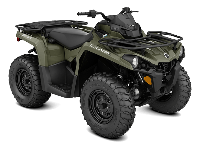 2016 Can-Am Outlander L 570 in Cedar Falls, Iowa