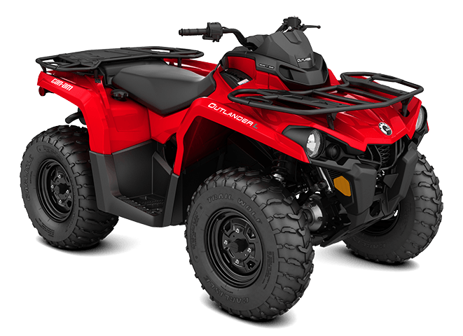2016 Can-Am Outlander L 570 in Shawano, Wisconsin