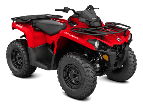 2016 Can-Am Outlander L 570 in Roscoe, Illinois