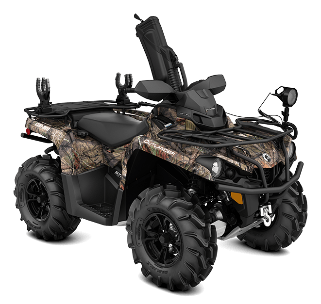 2016 Can-Am Outlander L 570 Mossy Oak Hunting Edition in Oakdale, New York