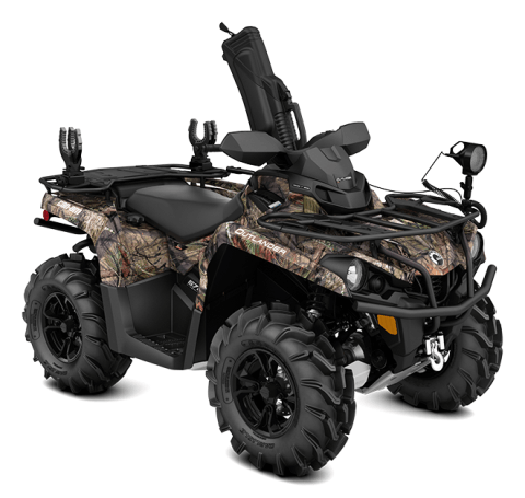 2016 Can-Am Outlander L 570 Mossy Oak Hunting Edition in Moorpark, California